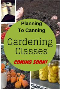 Garden Classes