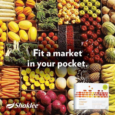 Shaklee Vitalizer - Market in You Pocket